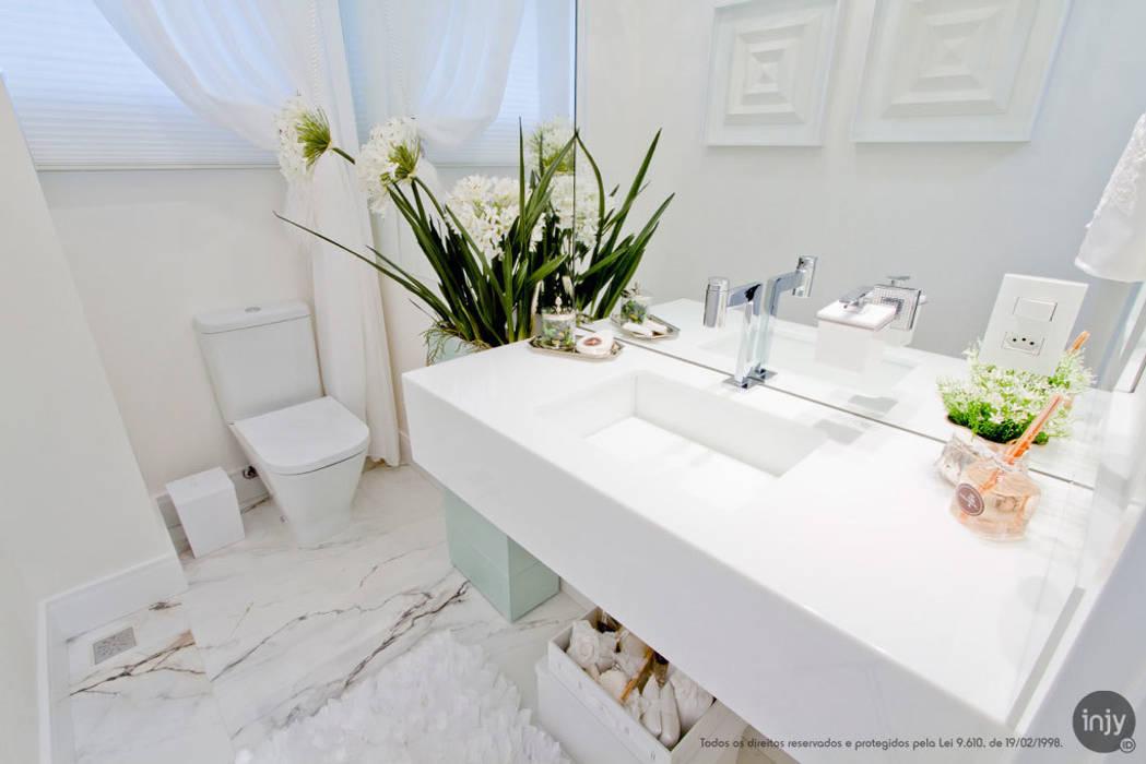 LAVABO WHITE:   por injy Interior Design