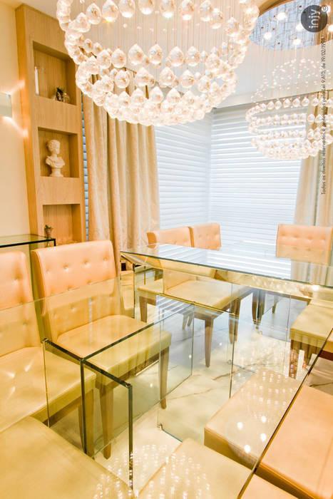 SALA DE JANTAR:   por injy Interior Design,