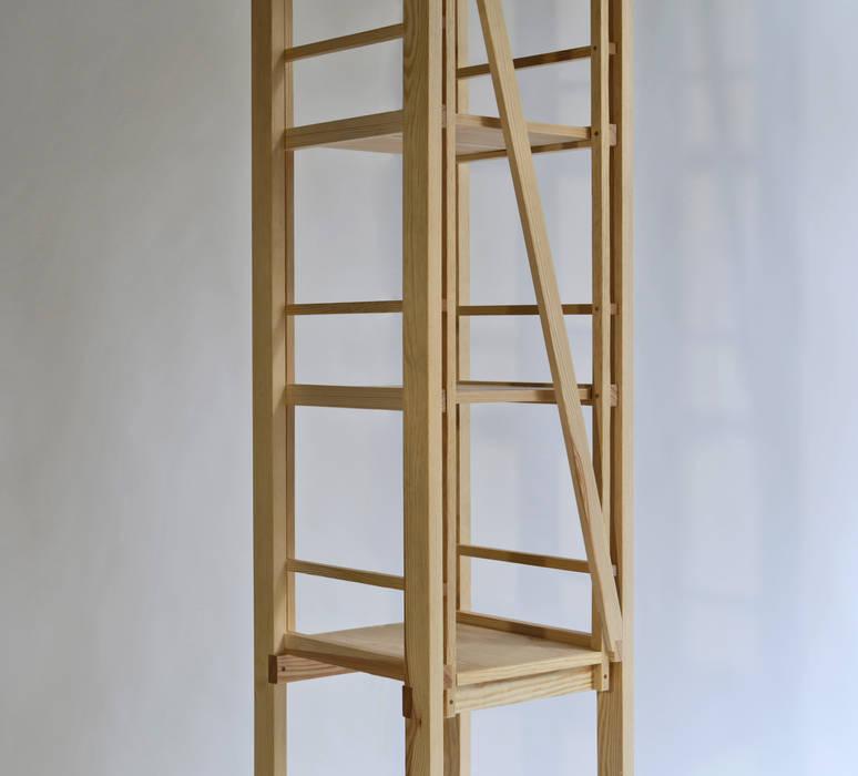 Freestanding Shelf von Sebastian Erazo Fischer Minimalistisch