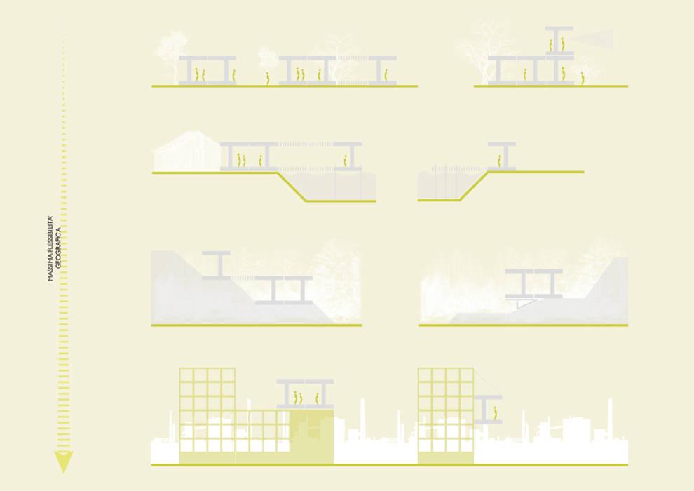 ECOSISTEMA45 _ armonia nel paesaggio: Case in stile in stile Scandinavo di STUDIO M2R ARCHITETTURA