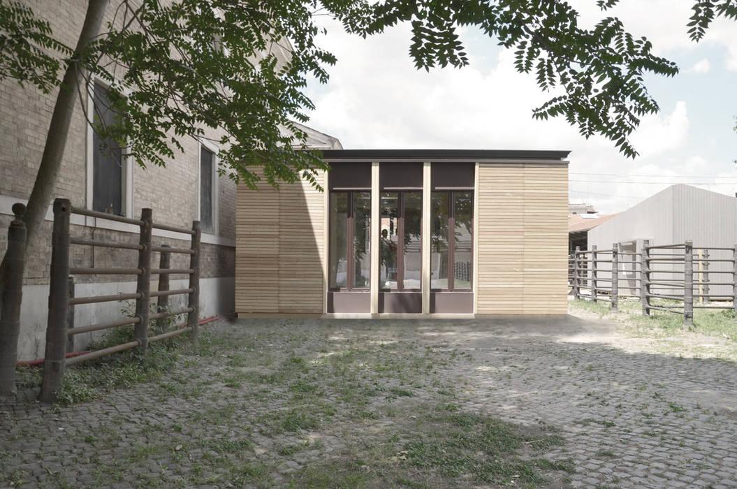 ECOSISTEMA45 _ PROTOTIPO Case in stile scandinavo di STUDIO M2R ARCHITETTURA Scandinavo