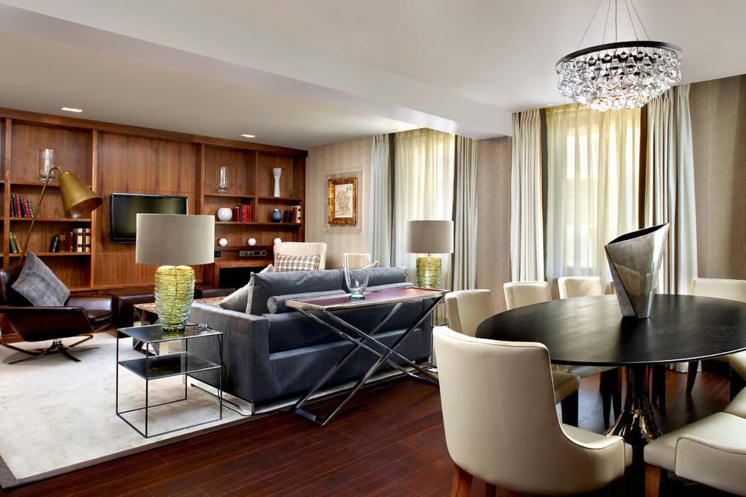 Sheraton Grand Edinburgh - Grand Suite Lounge by MKV Design Сучасний