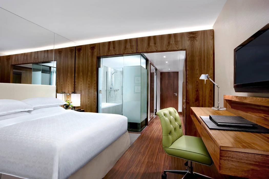 Sheraton Grand Edinburgh - Classic Guestroom by MKV Design Сучасний