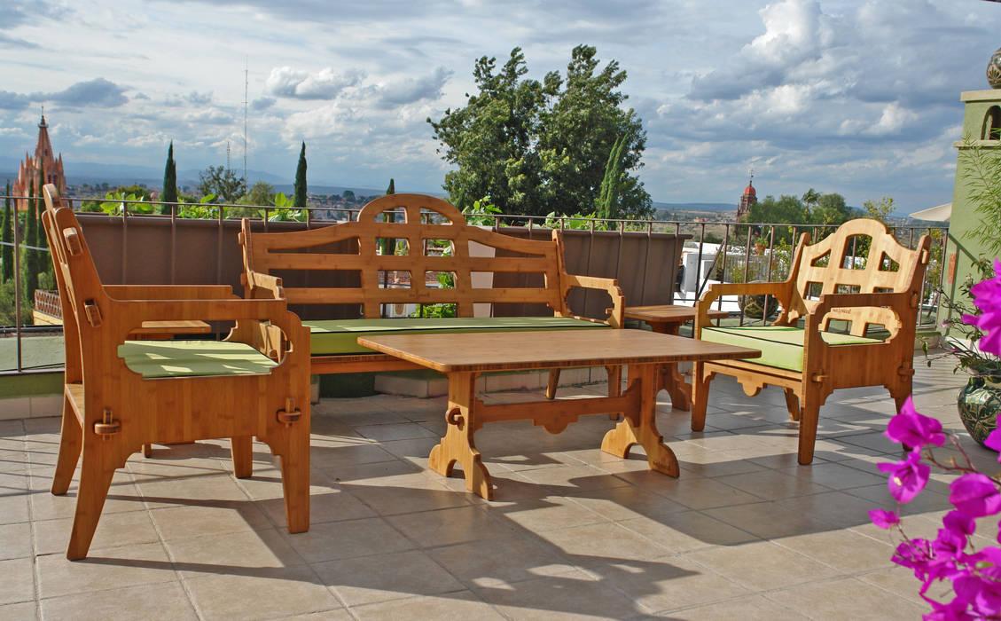 Lounge Set : Jardín de estilo  por Wedgewood Furniture