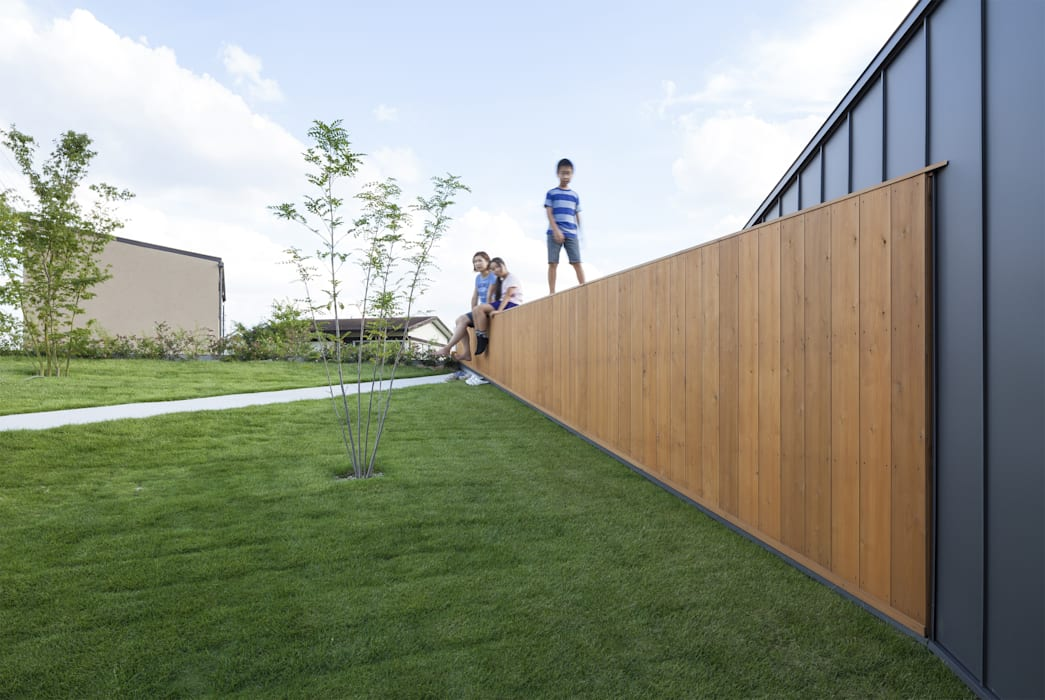 Secret Garden Maisons modernes par bandesign Moderne