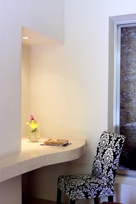Escritorio: Hoteles de estilo  por Taller Estilo Arquitectura