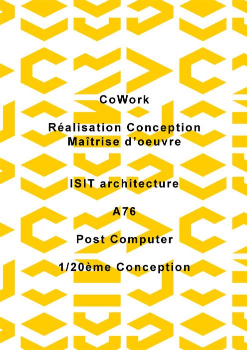 Art et Architecture - Cowork in Grenoble: Bureaux de style  par ISIT ARCHITECTURE