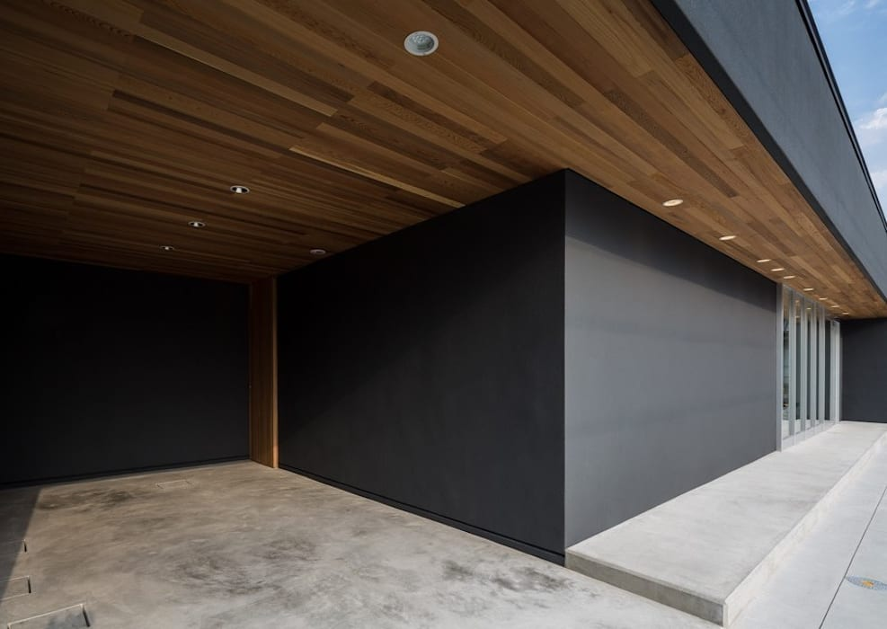 oleh YOKOI TSUTOMU architects, Eklektik