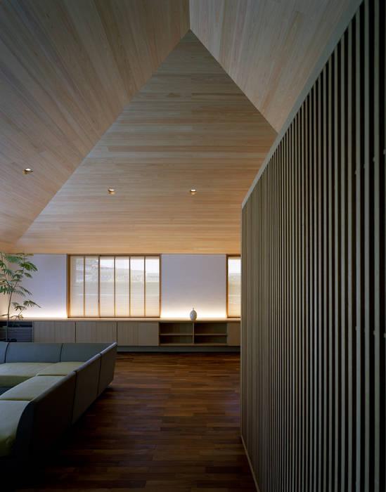 House in Satsuma Modern houses by 柳瀬真澄建築設計工房 Masumi Yanase Architect Office Modern