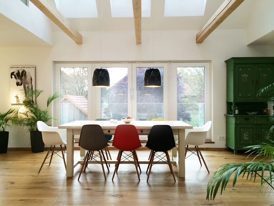 Cactus Architekten Modern dining room