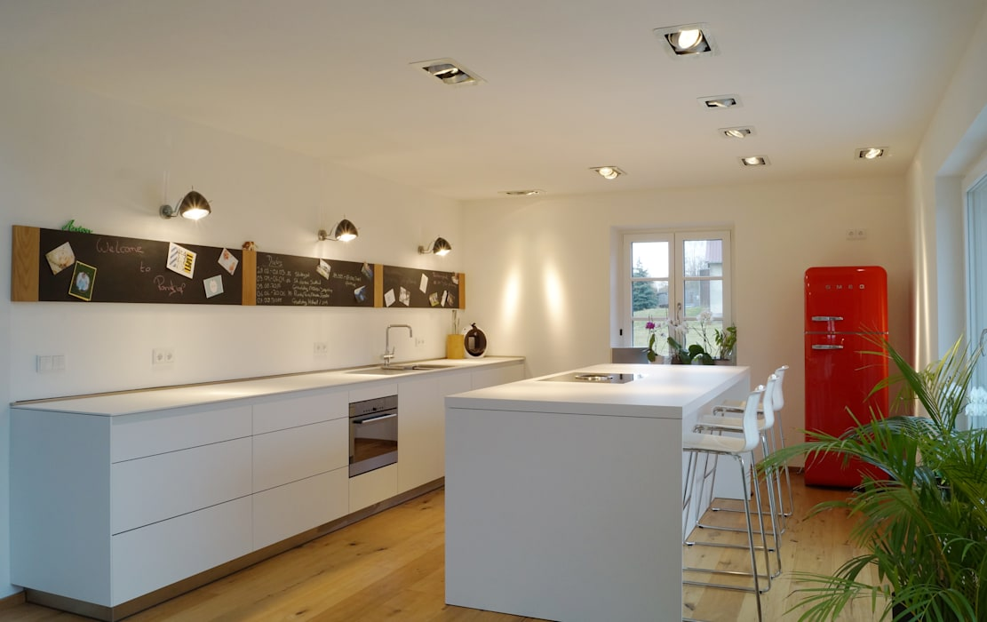 Cactus Architekten Modern kitchen