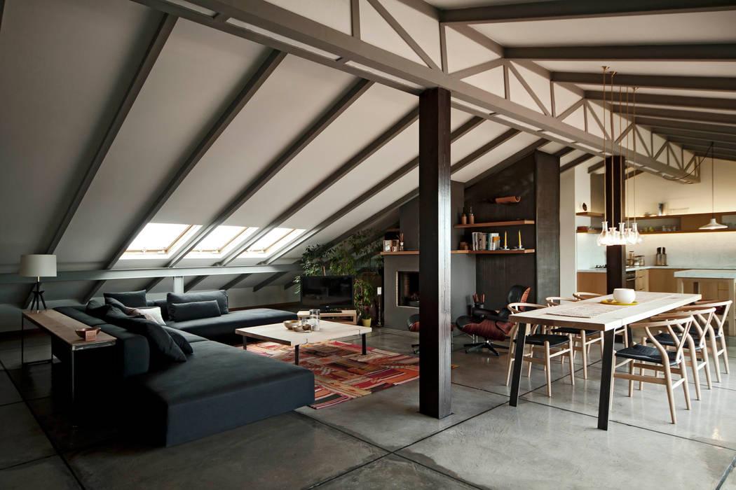 Maisons de style  par FLAT C/ ARCHITECTURE,