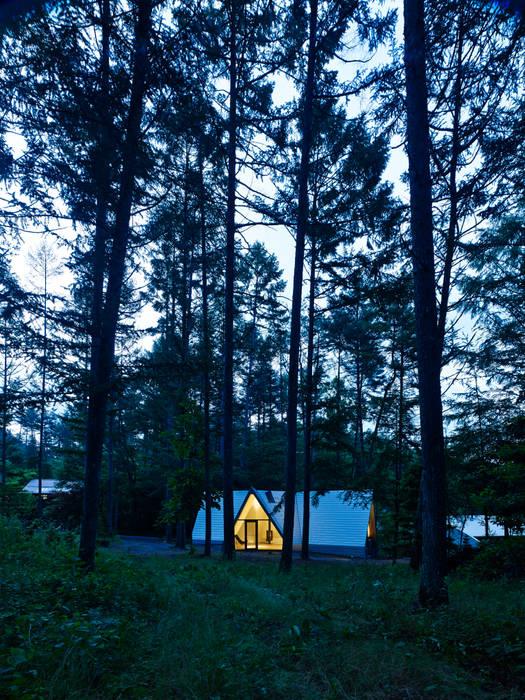 Forest House من カスヤアーキテクツオフィス(KAO) حداثي