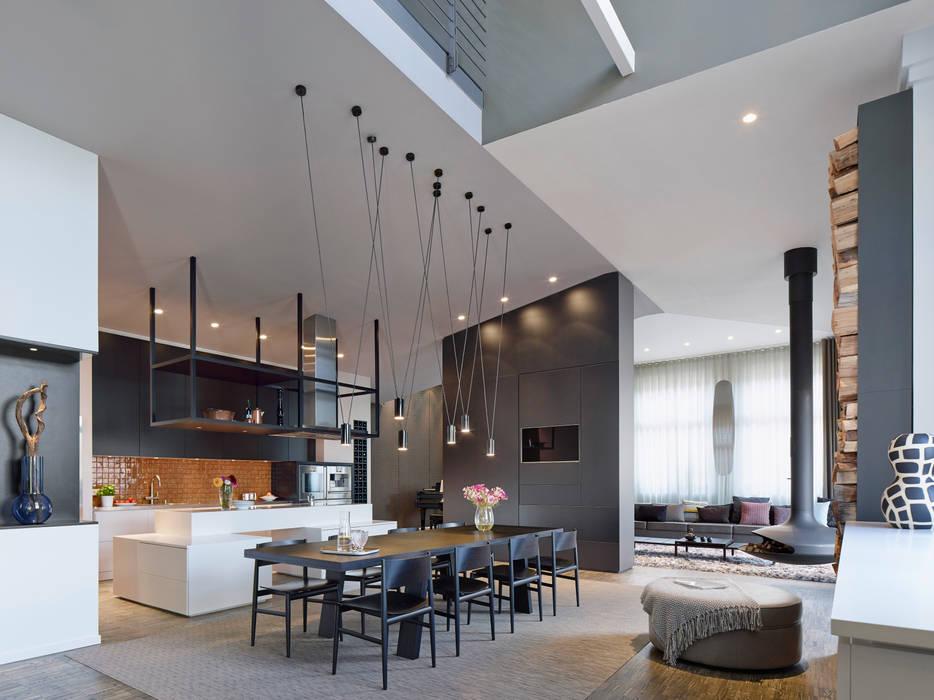 Loft ESN Moderne Esszimmer von Ippolito Fleitz Group – Identity Architects Modern