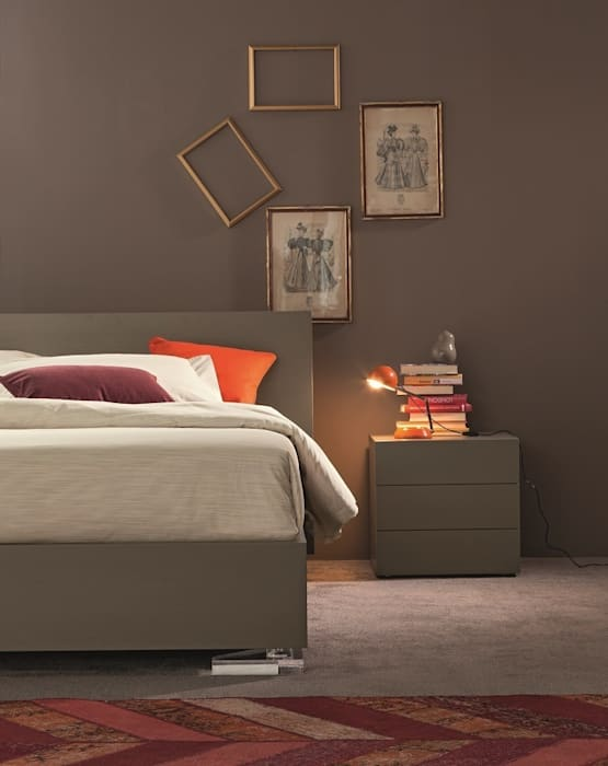 Bedroom by OGGIONI - The Storage Bed Specialist,