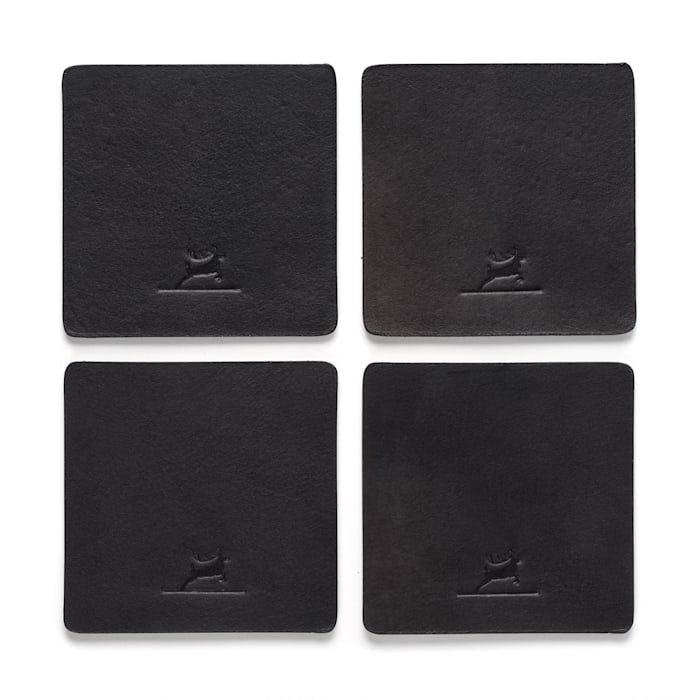 "Leather Coasters Black: {:asian=>""asiatisch"", :classic=>""klassisch"", :colonial=>""kolonial"", :country=>""landhausstil"", :eclectic=>""eklektisch"", :industrial=>""industriell"", :mediterranean=>""mediterrane"", :minimalist=>""minimalistisch"", :modern=>""modern"", :rustic=>""rustikal"", :scandinavian=>""skandinavisch"", :tropical=>""tropisch""}  von Rothirsch GmbH,"