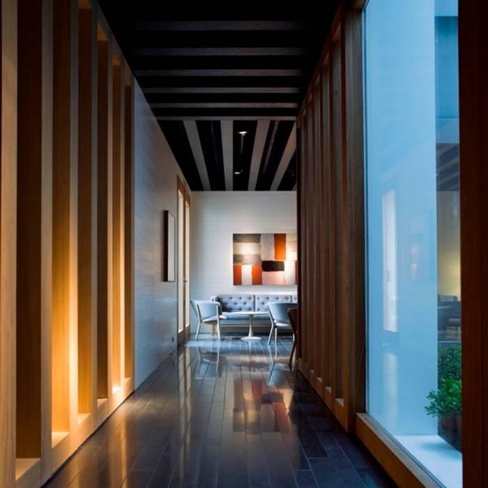 ATRIO RELAIS CHÂTEAUX Mansilla + Tuñón: Hoteles de estilo  de MANSILLA + TUÑÓN ARCHITECTS