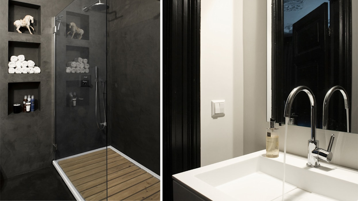 Badderen in Oriëntaalse sfeer Aziatische badkamers van choc studio interieur Aziatisch