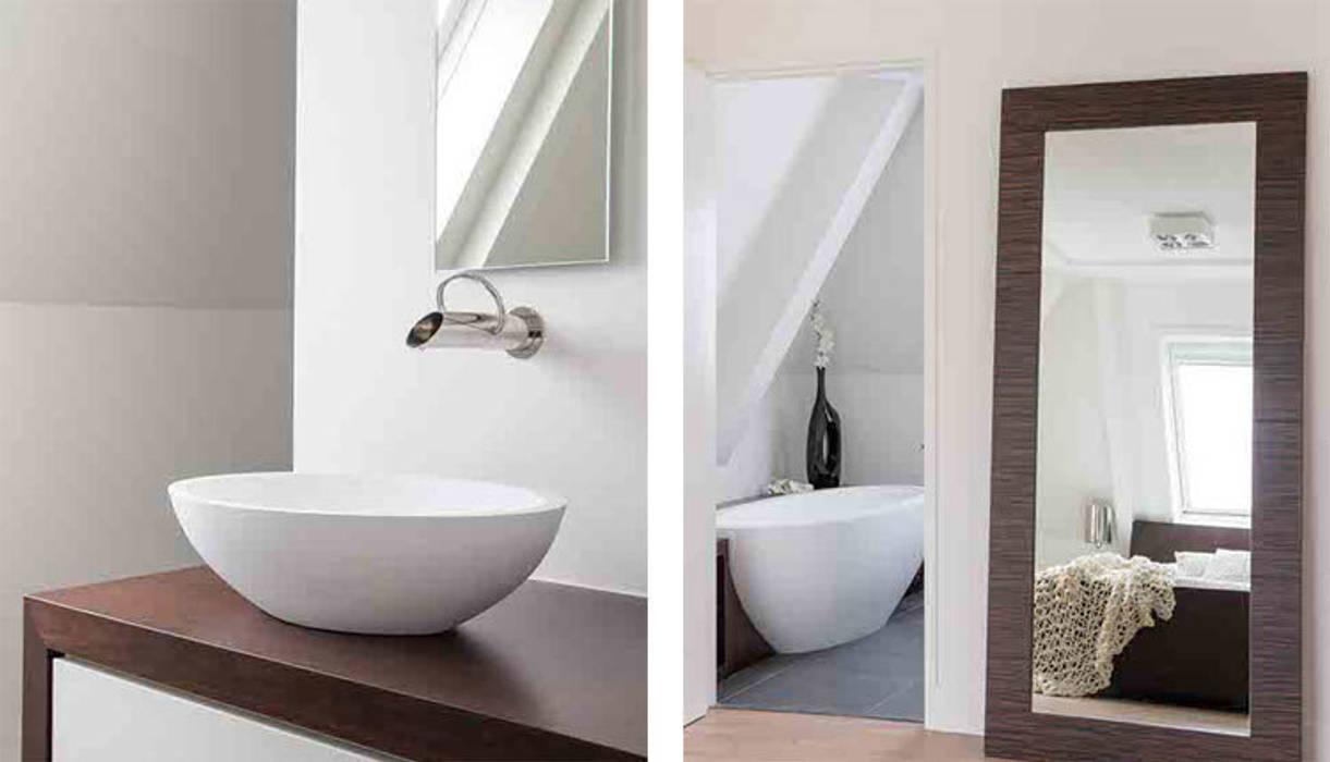 luxe badkamer Moderne badkamers van choc studio interieur Modern