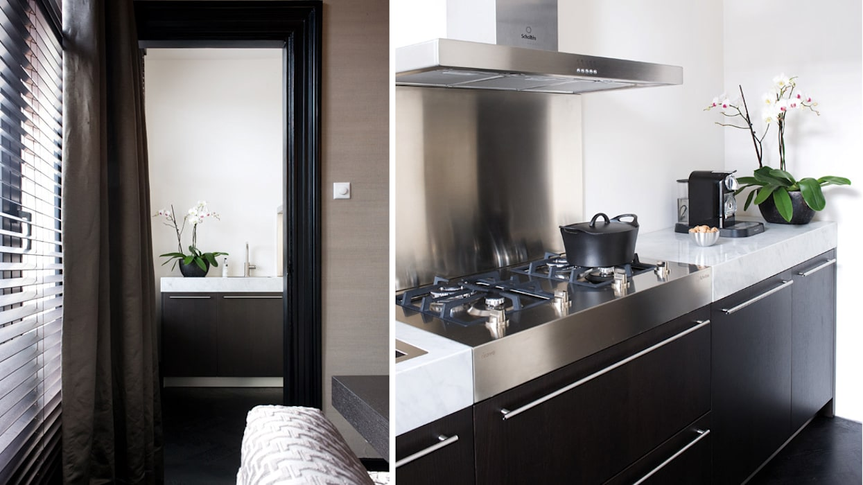 Italiaanse keuken Moderne keukens van choc studio interieur Modern