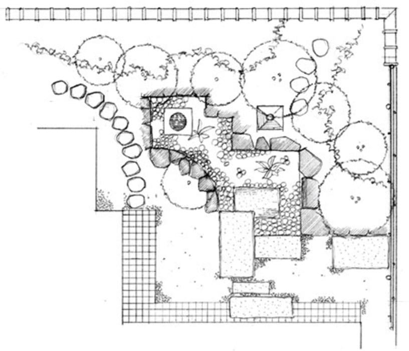 attic, loft, penthouse Case moderne di Dotto Francesco consulting Green Moderno