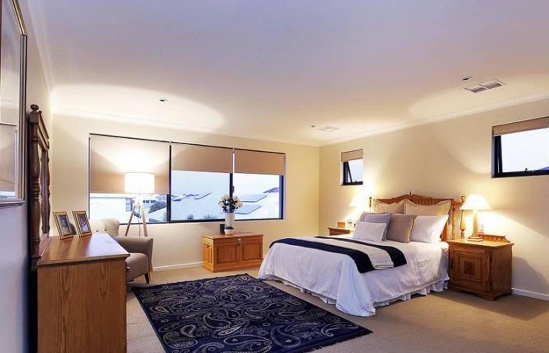 Master Bedroom :  Bedroom by Adorn Interior Design