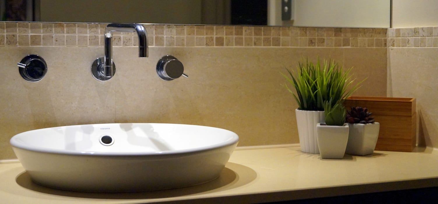 Bathroom :  Bathroom by Adorn Interior Design