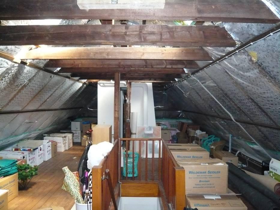 Dachbodenausbau Moderner Spa von schulz.rooms Modern
