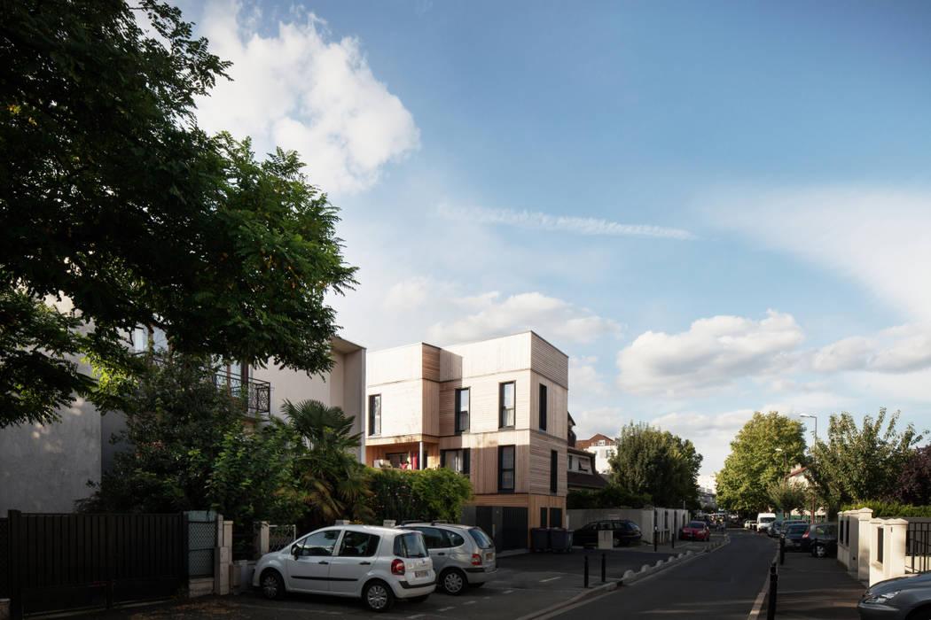 LA ARCHITECTURES 17 Logements rue Branly: Maisons de style de style Moderne par LA Architectures