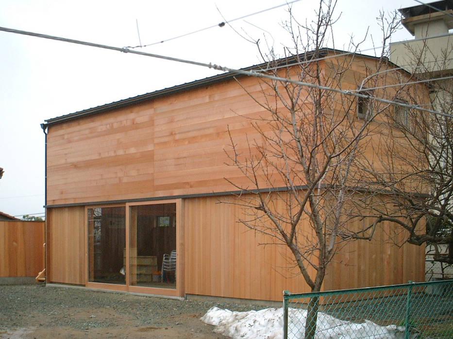外観 オリジナルな 家 の 家山真建築研究室 Makoto Ieyama Architect Office オリジナル