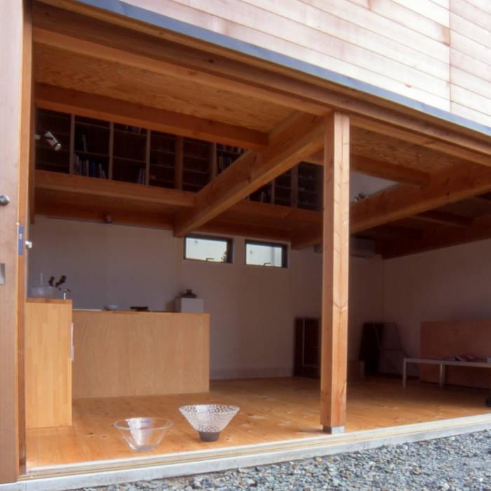 出入口 オリジナルな 家 の 家山真建築研究室 Makoto Ieyama Architect Office オリジナル