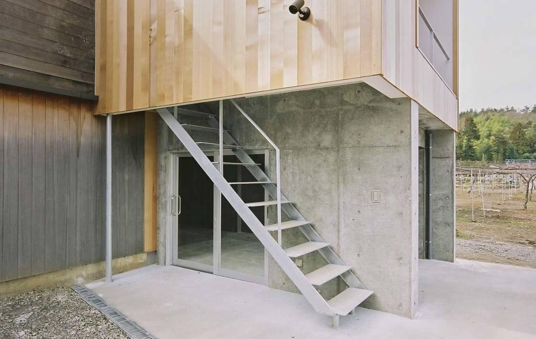 階段: 家山真建築研究室 Makoto Ieyama Architect Officeが手掛けた家です。