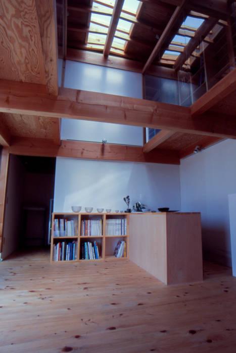 アトリエ吹抜 オリジナルな 家 の 家山真建築研究室 Makoto Ieyama Architect Office オリジナル
