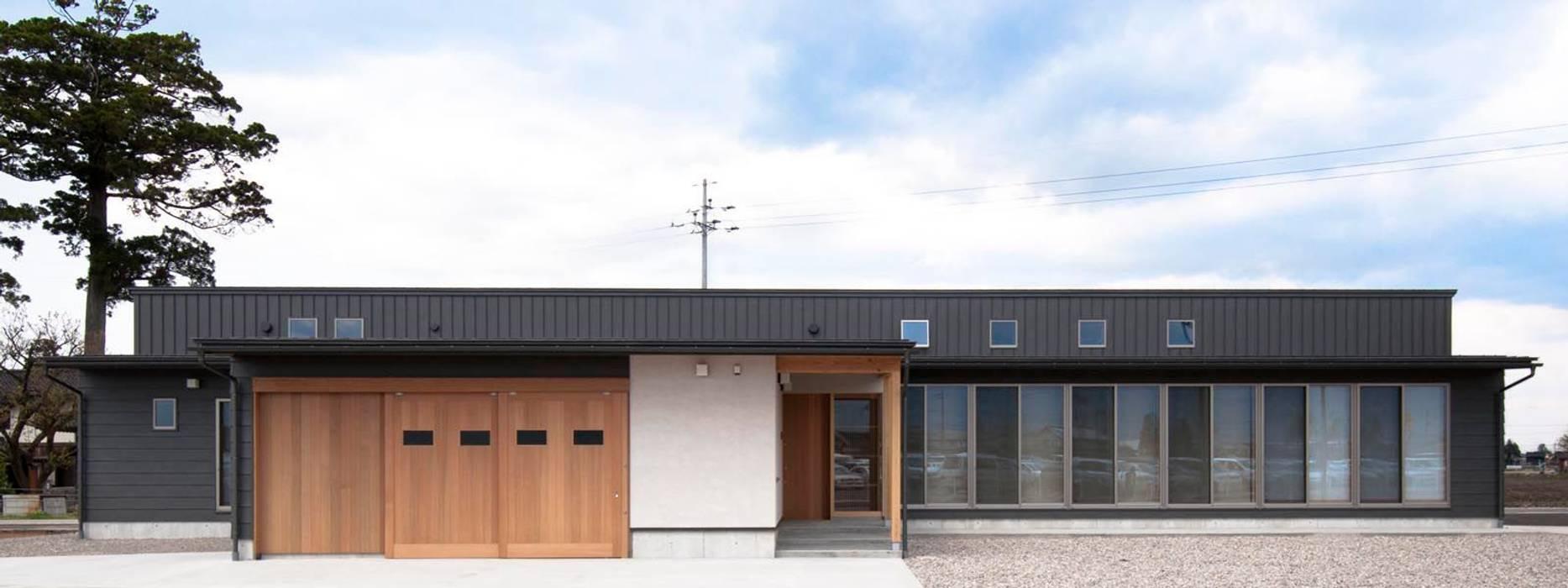 外観 家山真建築研究室 Makoto Ieyama Architect Office オリジナルな 家