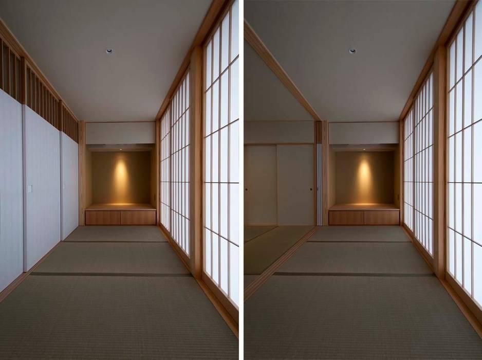 たたみ廊下: 家山真建築研究室 Makoto Ieyama Architect Officeが手掛けた家です。
