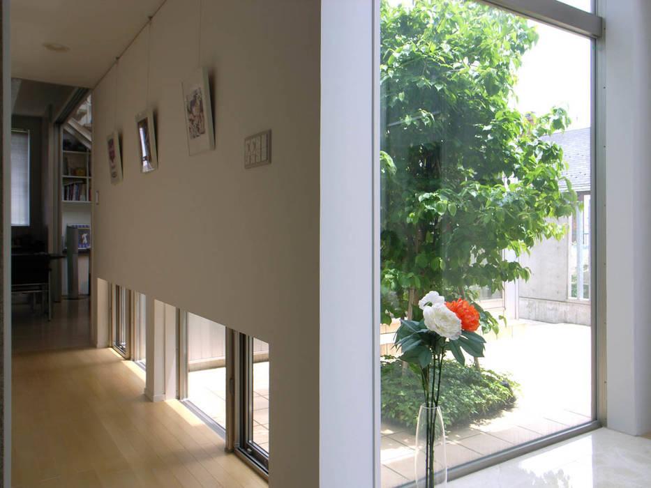 玄関ホール モダンスタイルの 玄関&廊下&階段 の 家山真建築研究室 Makoto Ieyama Architect Office モダン