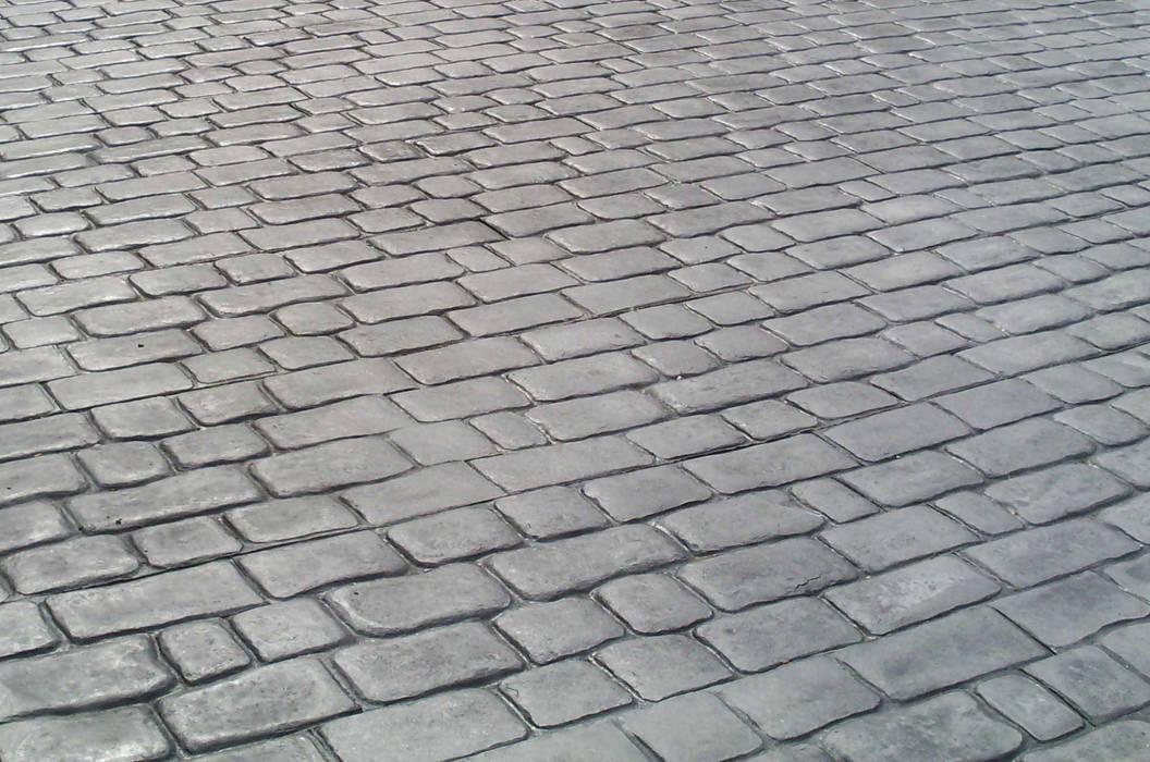 Pavimento in cemento stampato tipo porfido grigio pareti pavimenti in stile di pavimento - Stampi per decorare pareti ...