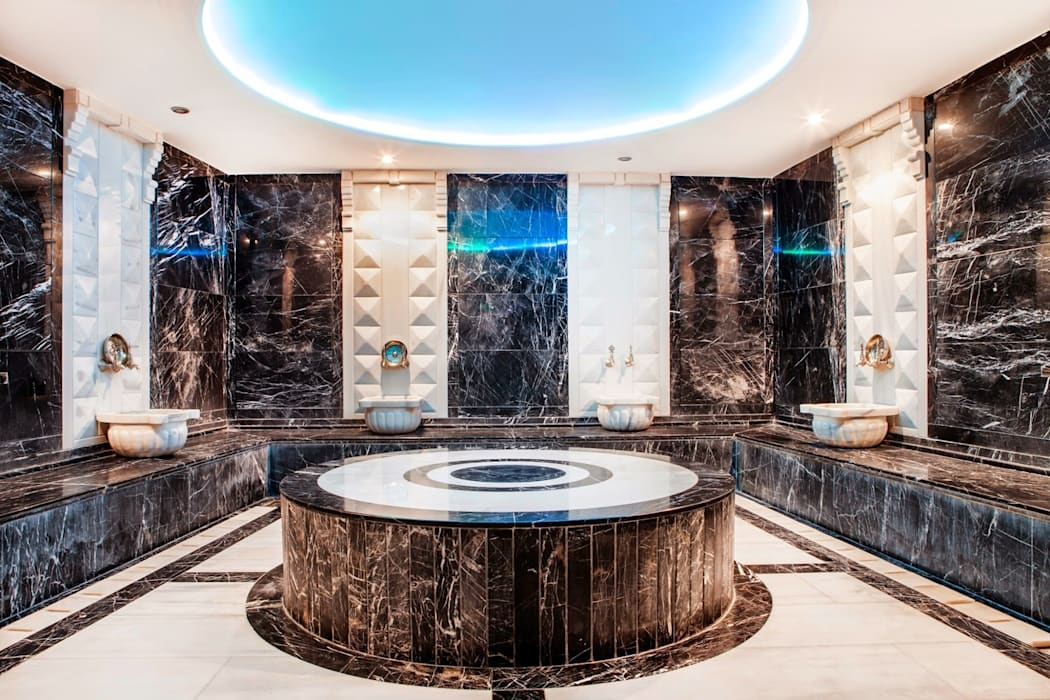 7/24 Fitness &Spa Loca Hamam by homify Modern
