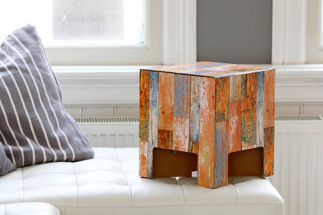 SCRAP WOOD Dutch Design Chair:  Wohnzimmer von Dutch Design,Modern