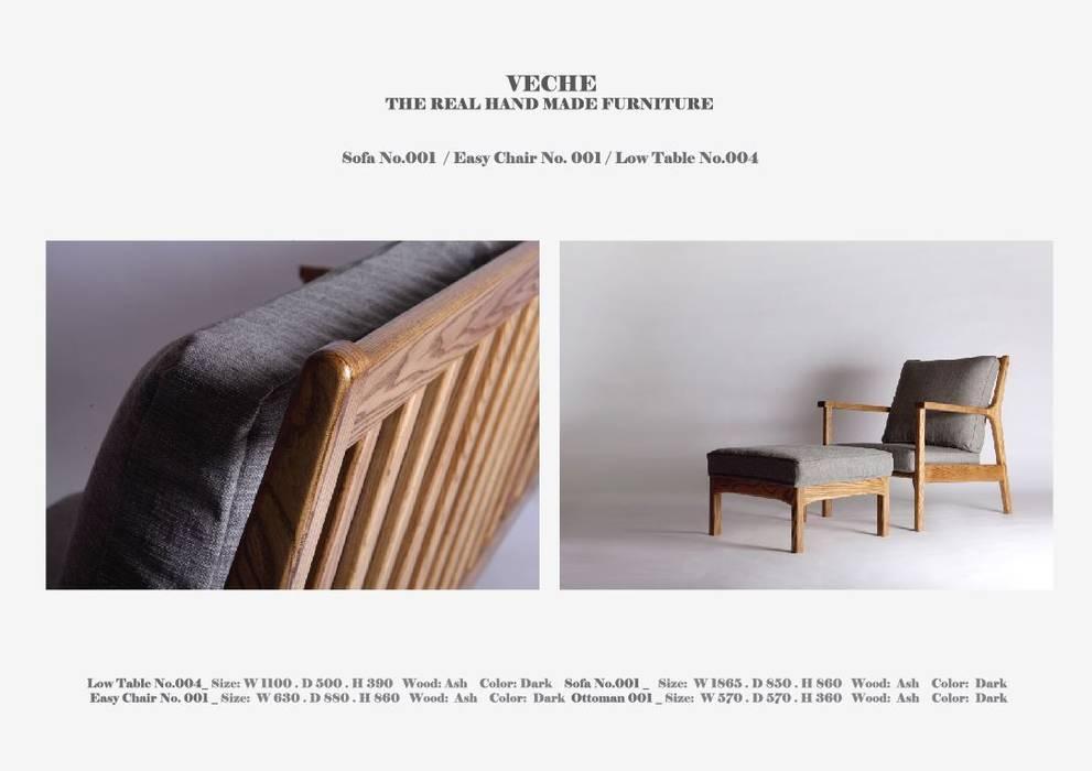 SOFA_001: Made by VECHE의 현대 ,모던