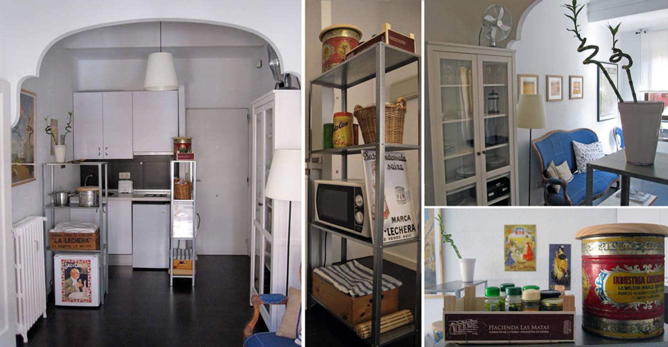 cocina en Chamberí, Madrid CarlosSobrinoArquitecto Cocinas de estilo ecléctico