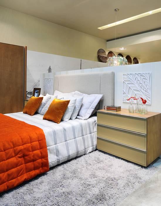 LOFT DA MULHER CONTEMPORÂNEA por Adriana Scartaris Casas ecléticas por Adriana Scartaris: Design e Interiores em São Paulo Eclético