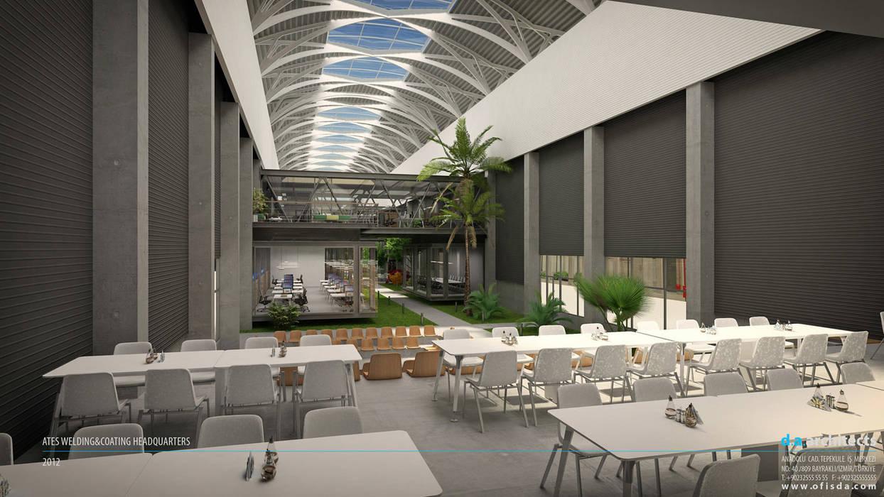 D.A. Mimarlık – ATEŞ ÇELİK FABRİKA ve OFİSLERİ:  tarz Ofis Alanları, Modern