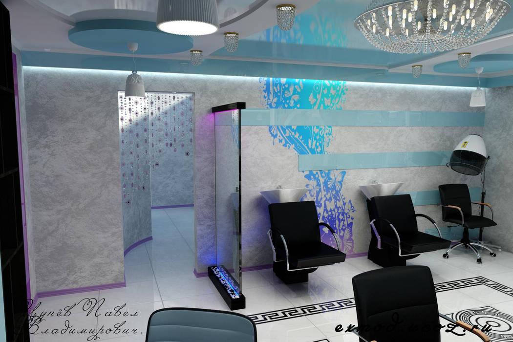 Салон красоты. Парикмахерская: Спа в . Автор – Цунёв_Дизайн. Студия интерьерных решений.