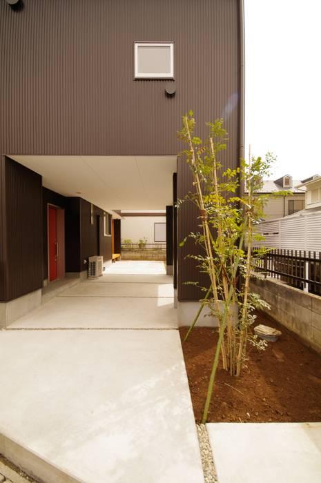 Moderne Häuser von K+Yアトリエ一級建築士事務所 Modern