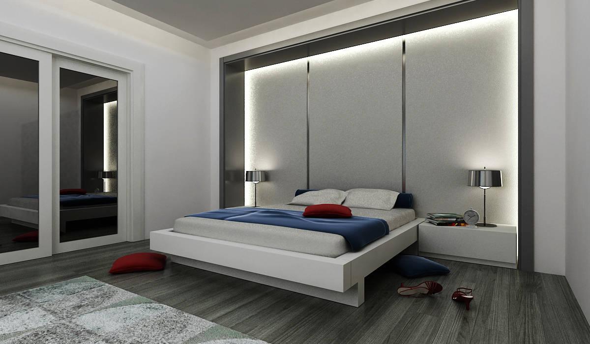 Dormitorios de estilo moderno de Niyazi Özçakar İç Mimarlık Moderno