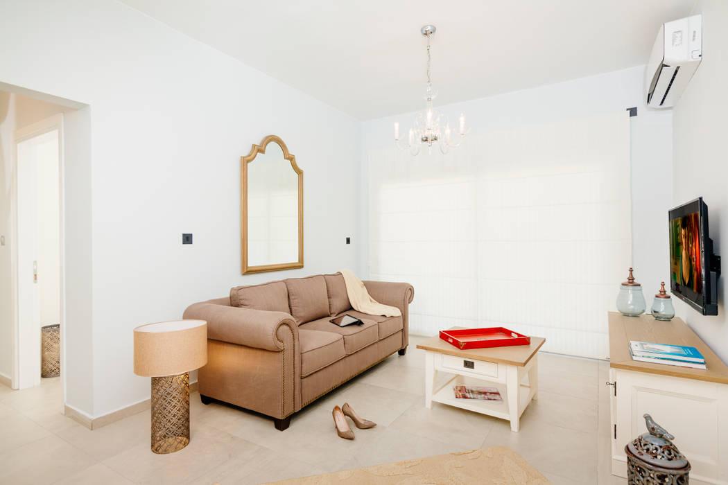 Kıbrıs Developments ห้องนั่งเล่น