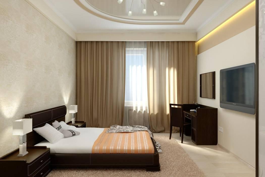 Дизайн спальни: Спальни в . Автор – Цунёв_Дизайн. Студия интерьерных решений.
