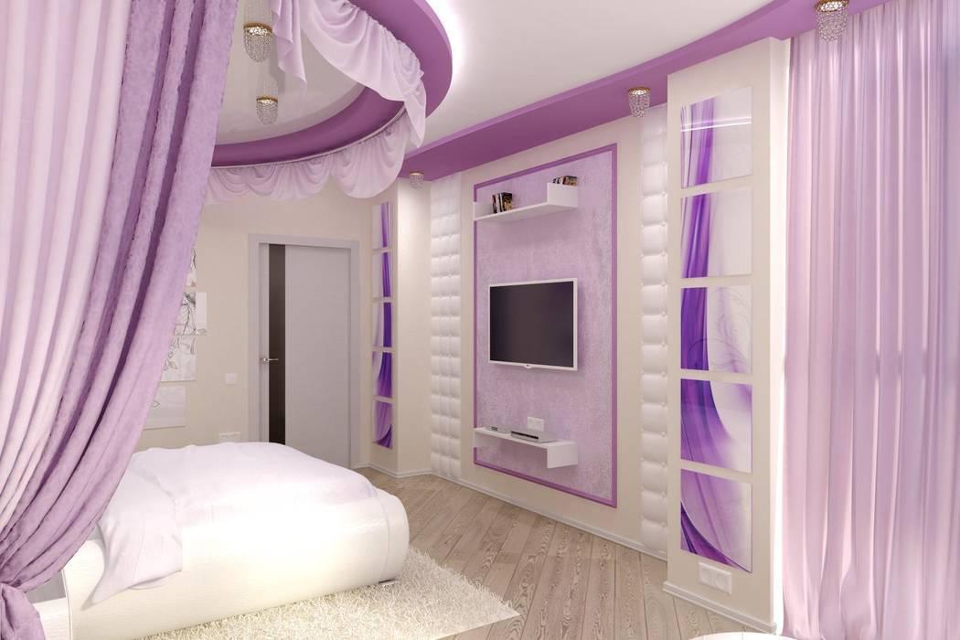 Дизайн спальни: Спальни в . Автор – Цунёв_Дизайн. Студия интерьерных решений., Модерн