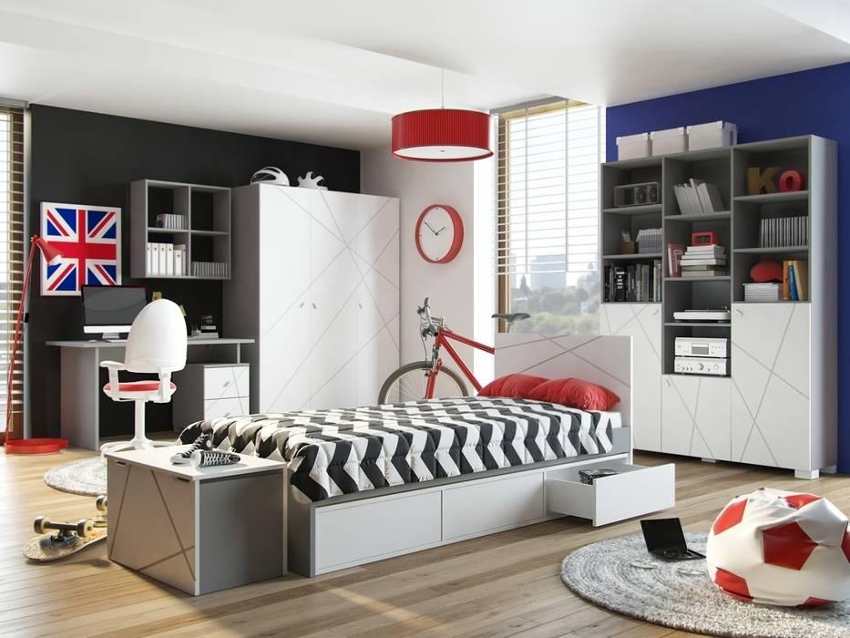 Habitaciones para niños de estilo moderno de Möbelgeschäft MEBLIK Moderno